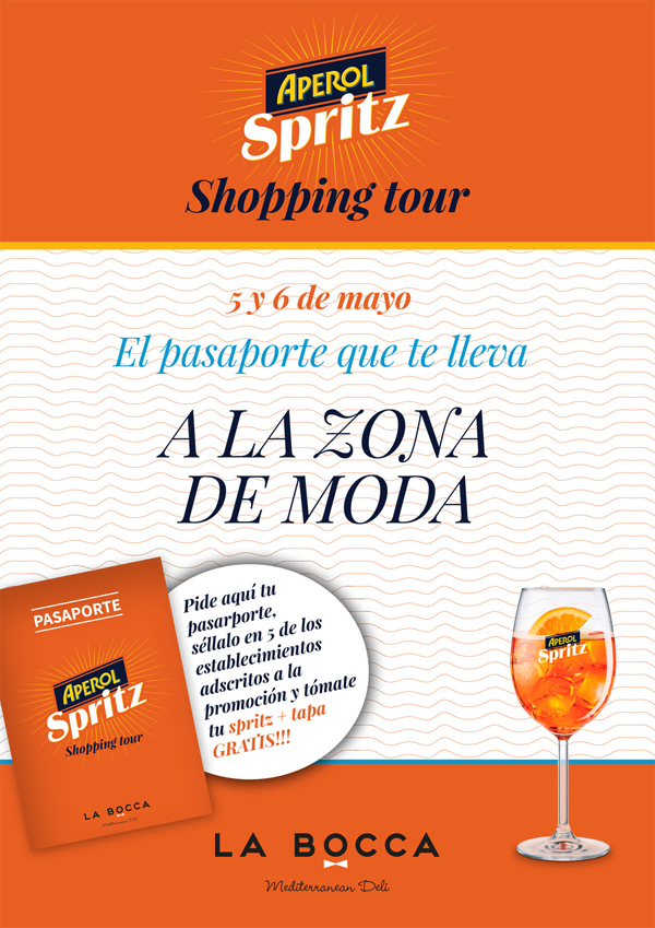 Aperol Shopping Tour en Zaragoza