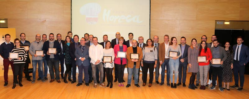 XIX edición de los Premios Horeca en Zaragoza