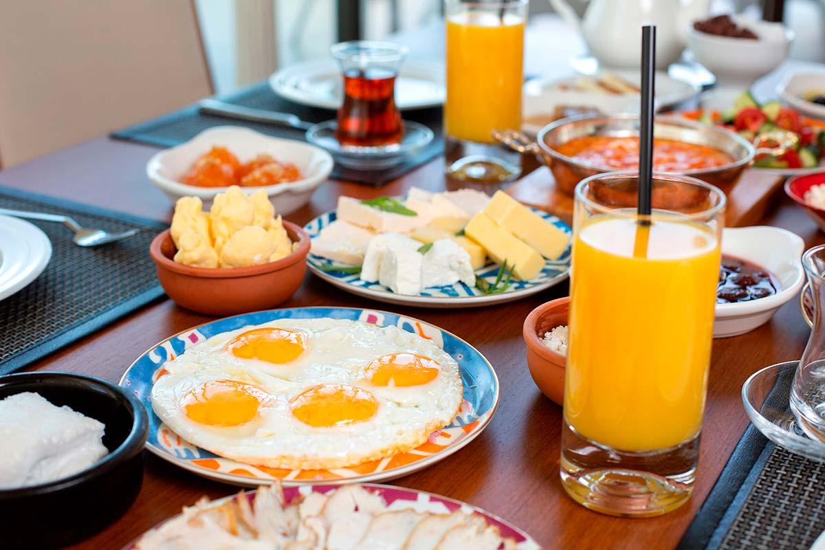errores del desayuno