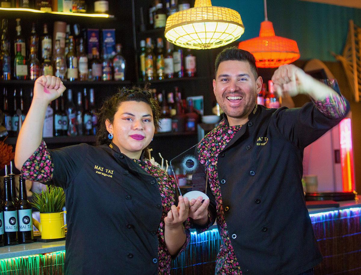 Mai Tai Exótico: el mejor cóctel bar restaurante del mundo está en Zaragoza