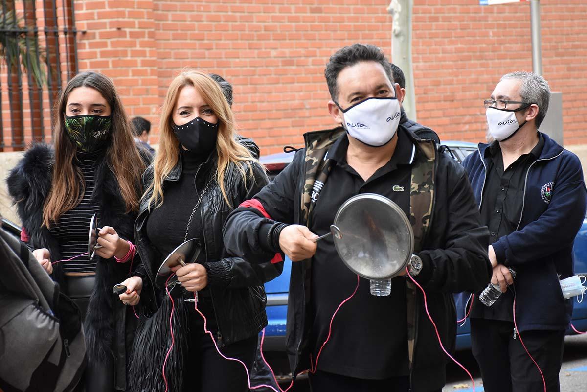 Así fue la manifestación en apoyo a la hostelería en Zaragoza en imágenes